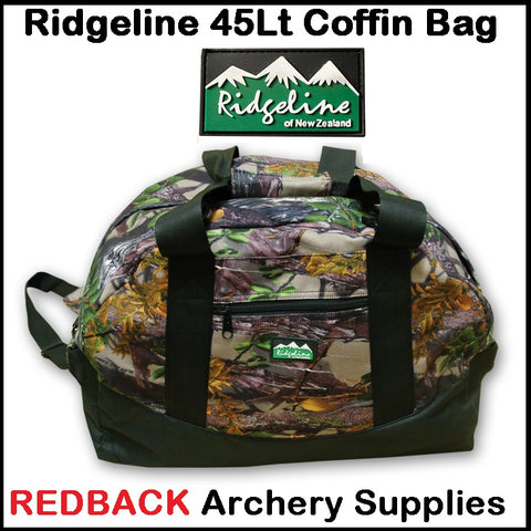 Ridgeline Coffin Gear Bag 45Lt - Buffalo Camo