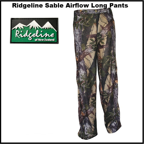 Ridgeline Sable Airflow Pants Buffalo Camo