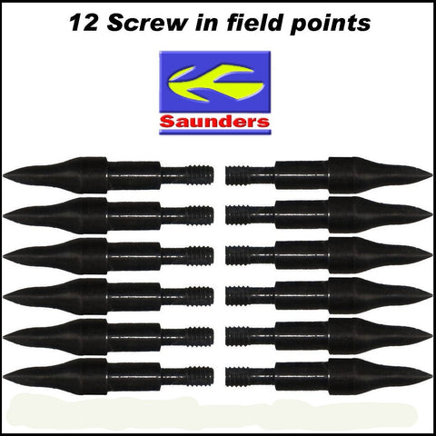 Saunders 11/32 Field Points 12pk