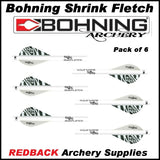 Bohning Quick fletch 6 pack