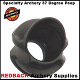 Specialty archery threaded peep sight