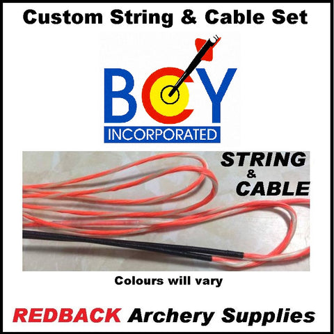 custom replacement bow string for bowtech experience