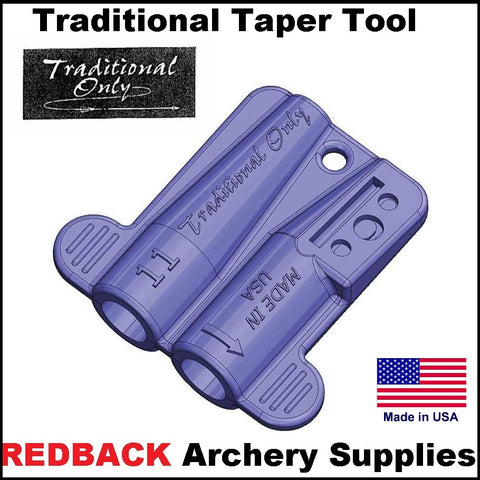 traditional taper tool