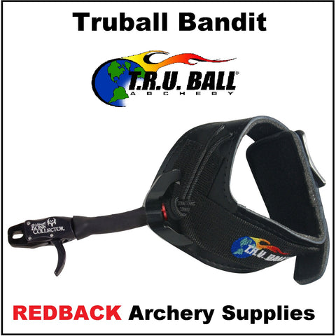 Truball Bandit release aid bucle strap or velcro