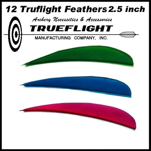 truflight arrow feathers parabolic 2.5 inch right wing
