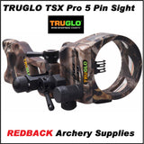 Truglo TSX Pro series 5 pin micro adjust sight
