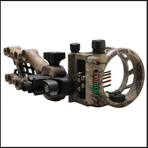Truglo Carbon Hybrid micro adjust compound bow sight