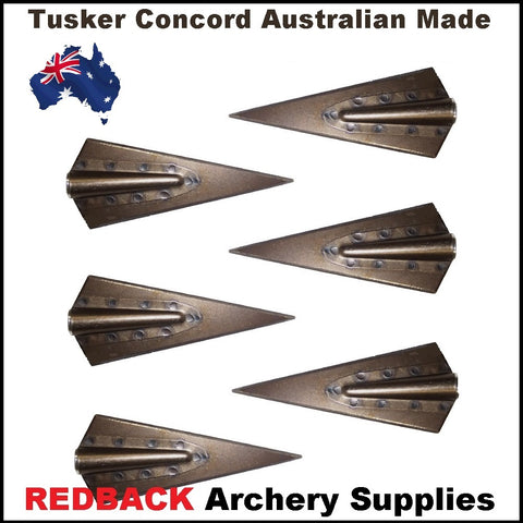 Tusker Concorde Glue-On Broadheads 155grn 6pk