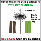 cat whiskers string silencers