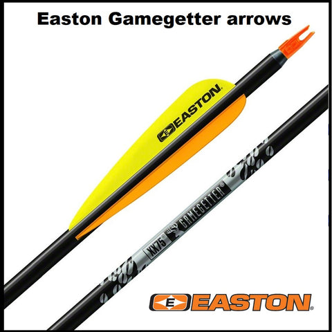 Easton Gamegetter arrows made up