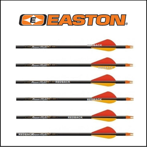 Easton Powerflight arrows made up complete