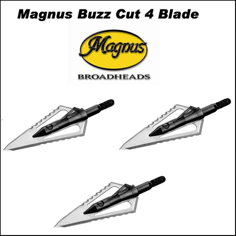 magnus buzz cut broadheads 4 blade