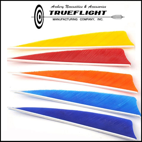 Truflight 5 Inch shield Cut Feathers 25pk