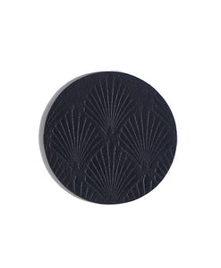 Mochi Leaf-Leather Coasters(Set of 4)