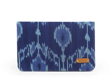 Pocket Book- Blue Ikat