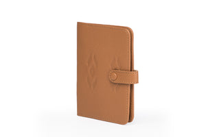 Passport Wallet- Tan