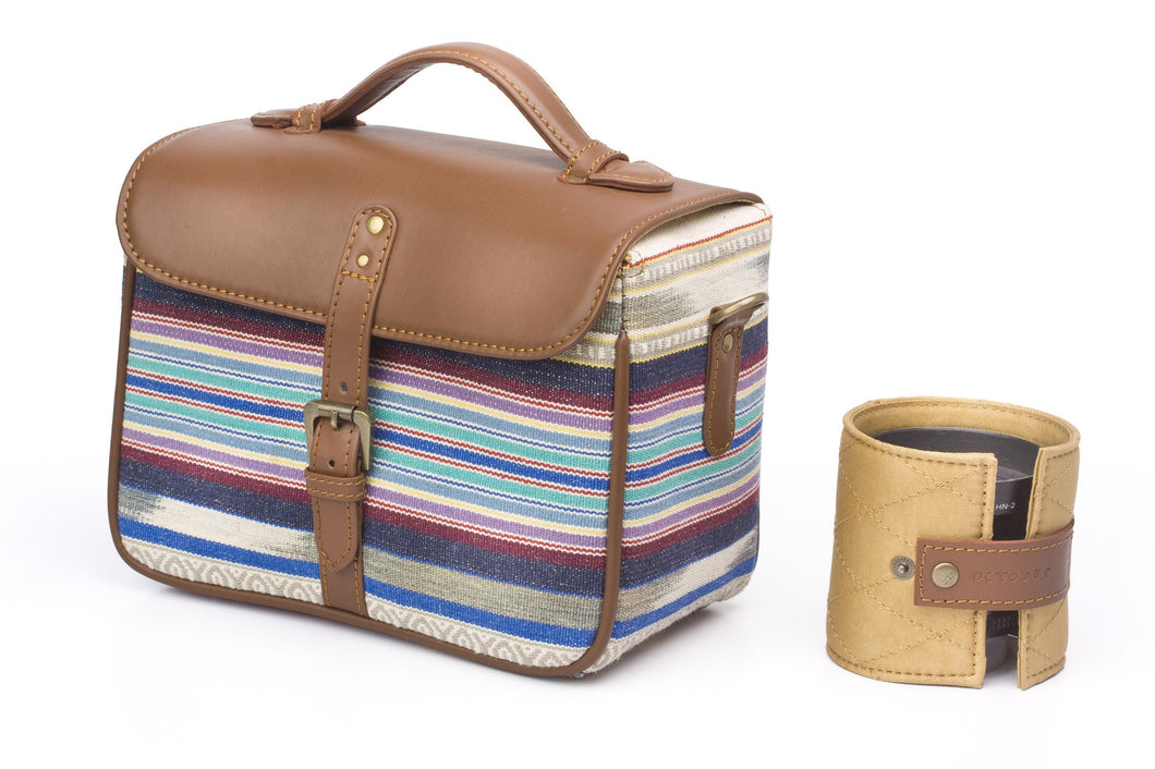 Camera Bag- Stripe Durrie
