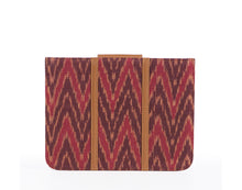 IPad Cover- Red Ikat
