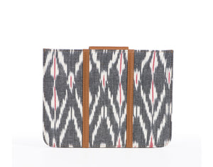 iPad Cover- Grey Ikat