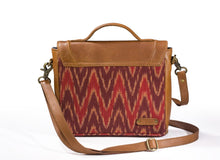 Sling Bag- Red Ikat