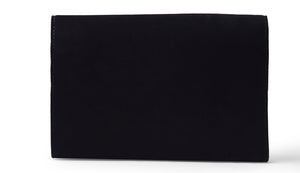Suede clutch- Black