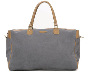 Suede Travel Bag