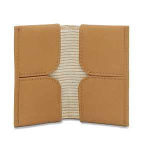 Meteor-Card Wallet Camel