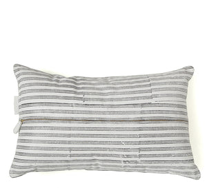 Westend Garden- Lumbar Pillow White