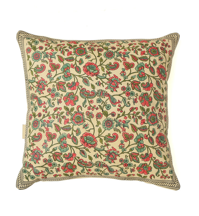 Westend Garden- Cream Pillow