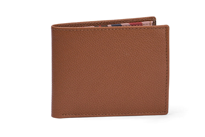 MENS WALLET- TAN