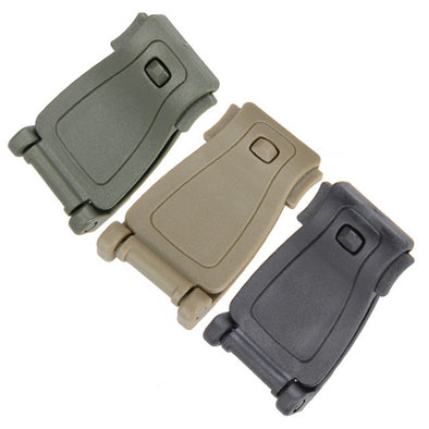Tactical Molle Webbing Buckle Clip - 2 Pack