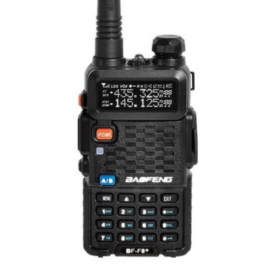 UKSN Bravo Baofeng / Misuta UV-5R / BF-F8+ / Hero Dual Band UHF/VHF Two Way FM Ham Radio (Black)