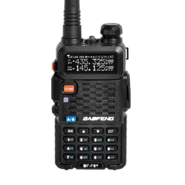 UKSN Bravo Baofeng BF-F8+  Dual Band UHF/VHF Two Way FM Ham Radio (Black) *NEW* Now with USB Charge Dock