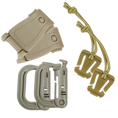 UKSN Coyote EDC Clip Multi pack - Saving £1.78 over RRP