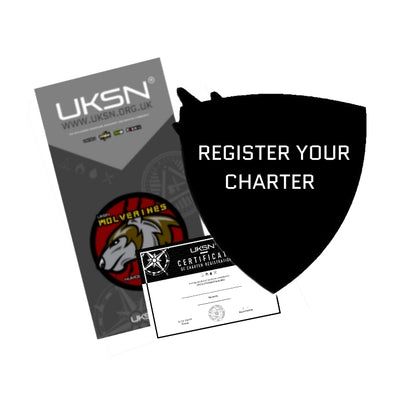 Official Charter Registration and Banner (120cm x 60cm)