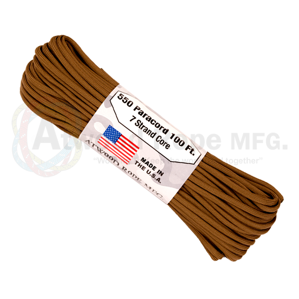 Atwood-Rope 550lb 7 Strand Paracord 50ft (15m)