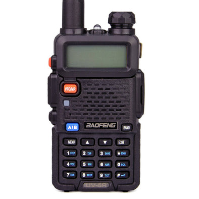 UKSN Alpha Baofeng UV-5R Dual Band UHF/VHF Two Way FM Ham Radio (Black)