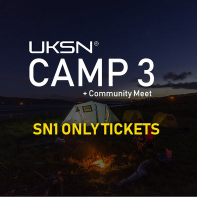 Camp 3 + Community Meet Tickets (SN1 Members Only) - 29th July-4 August