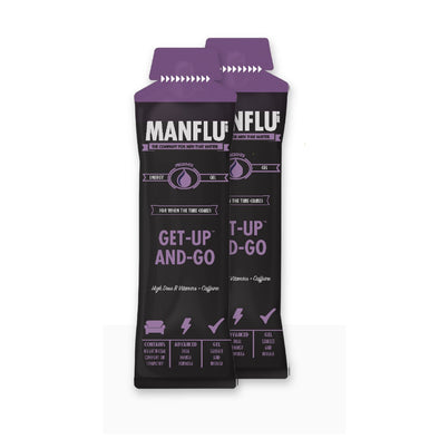MANFLU GET-UP AND-GO Energy Gel x2 Sachet