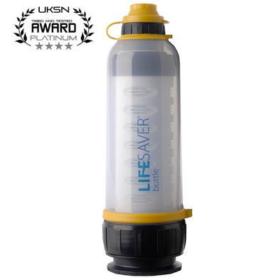 Lifesaver Bottle 4000 Water Purification System *Save upto £79.99 on RRP*