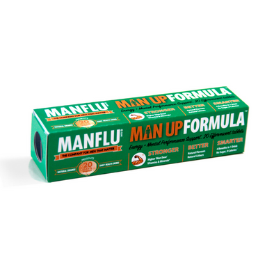 MANFLU Man Up  Effervescent Tablets - A perfect EDC addition