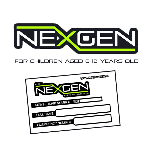 NexGen Childrens Membership (0-12years)