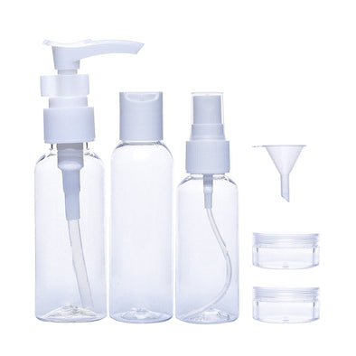 Clear Travel Kit - 6 Piece