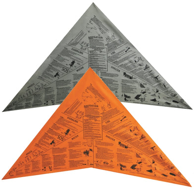 Head for Survival Triangular Bandana/Cravat