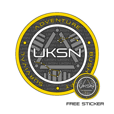 UKSN Coin Sticker (Small) - FREE For a Limited time (max of 3 per person)