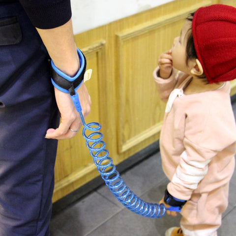 Kids Safety Harness Child Leash Anti Lost Wrist Rope Bracelet