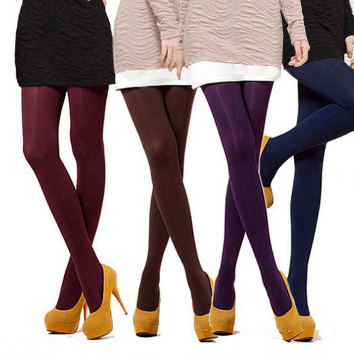 1 Pair 8 Colors NEW Sexy Women Lady Beauty Opaque Thine Footed Dance