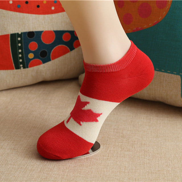 1 Pair New Fashion Men Ankle Socks Low Cut Crew Casual Color Cotton