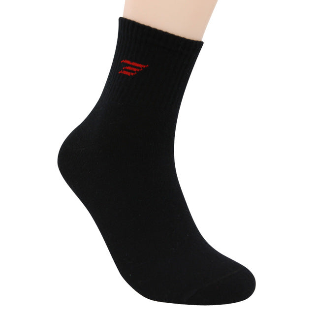 autumn winter brand warm cotton socks for men black socks male white