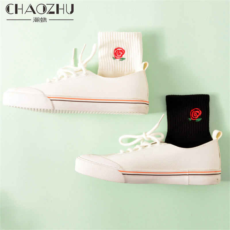 1 Pair CHAOZHU High Quality Stretch Cotton Socks Character